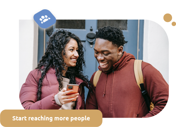 Reach more people and do more with SAM and Textmunication